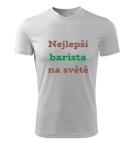 Tričko nejlepší barista na světě - Dárky pro baristy