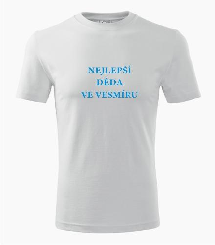 Tričko nejlepší děda ve vesmíru - Pánská narozeninová trička