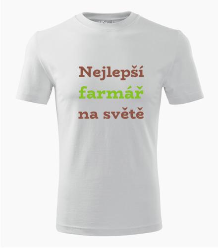 Tričko nejlepší farmář na světě
