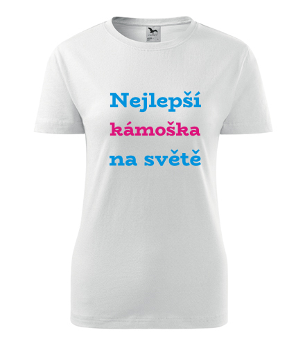Tričko nejlepší kámoška na světě - Dárek pro ženu k 65
