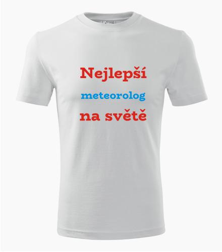 Tričko nejlepší meteorolog na světě