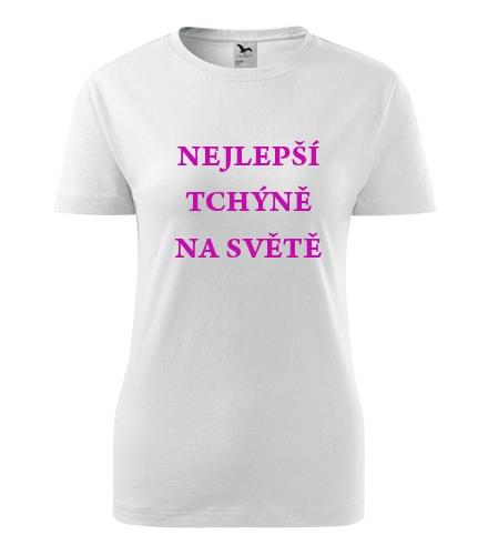 Tričko nejlepší tchýně na světě - Dárek pro ženu k 77