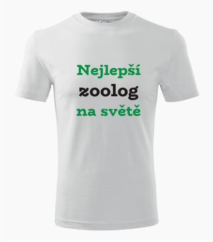 Tričko nejlepší zoolog na světě - Dárek pro zoologa