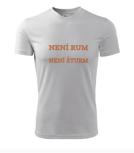 Tričko Není rum šturm - Filmová trička