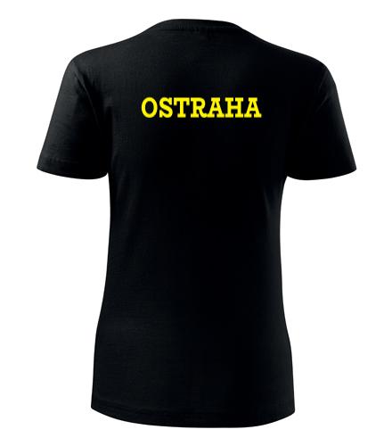 Dámské tričko Ostraha - Trička security