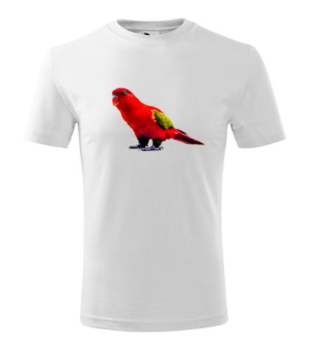 Dětské tričko s papouškem 1 - Dárek pro ženy k narozeninám
