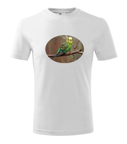 Dětské tričko s papouškem 3 - Trička se zvířaty dětská