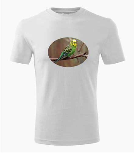 Tričko s papouškem 3 - Dárek pro chovatele ptactva