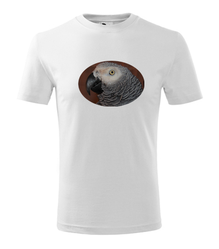 Dětské tričko s papouškem 6 - Trička se zvířaty dětská