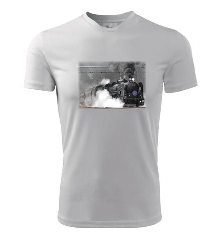 Tričko s parní lokomotivou C61 20 - Dárek pro příznivce železnice