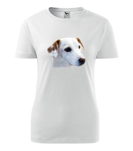 Dámské tričko se psem 1 - Dárky pro chovatelky psů
