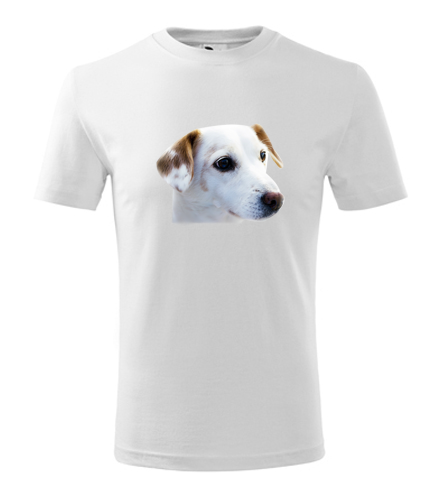 Dětské tričko se psem 1
