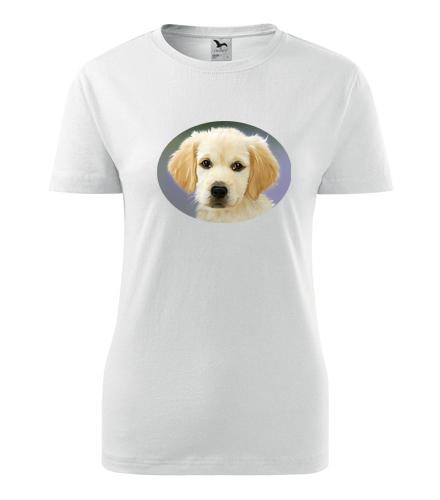 Dámské tričko se psem 2 - Dárky pro chovatelky psů