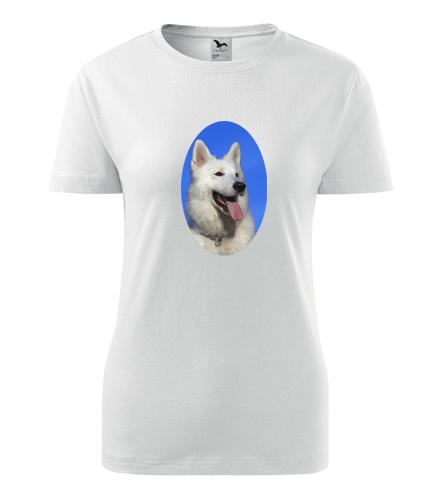 Dámské tričko se psem 3 - Dárky pro chovatelky psů