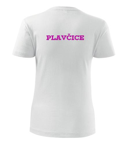 Tričko plavčice dámské - Dárek pro vodáka