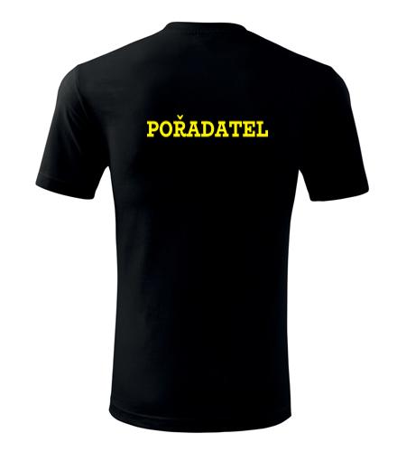 Tričko pořadatel pánské - Trička security