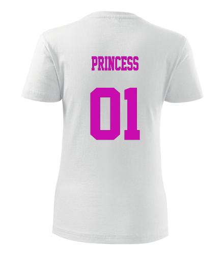Dámské tričko princess - Dárky k Valentýnu