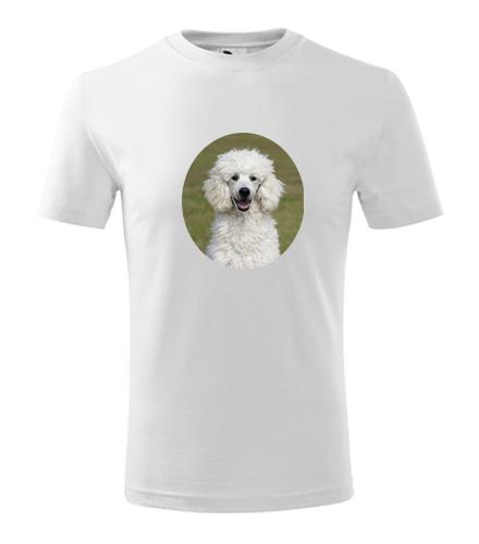 Dětské tričko s pudlem - Trička se zvířaty dětská