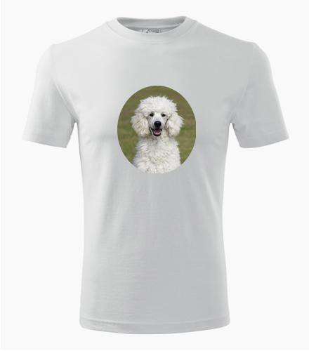 Tričko s pudlem - Dárek pro pejskaře
