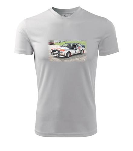 Tričko s kresbou Audi Quattro - Dárek pro příznivce aut