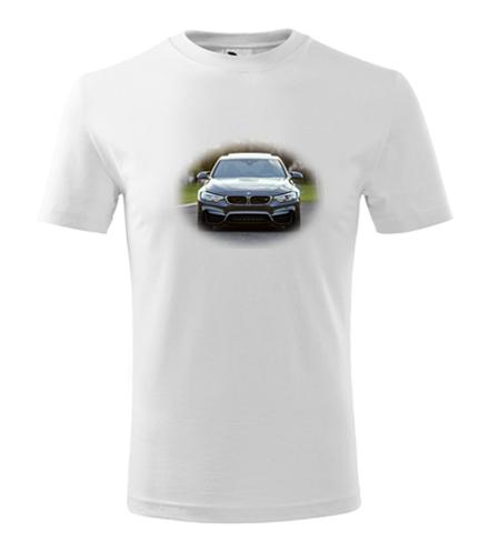 Dětské tričko s BMW 2 - Dětská trička s auty