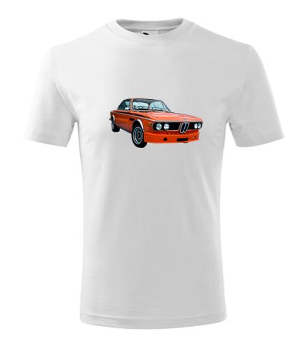Dětské tričko s BMW 30 CSL - Dětská trička s auty