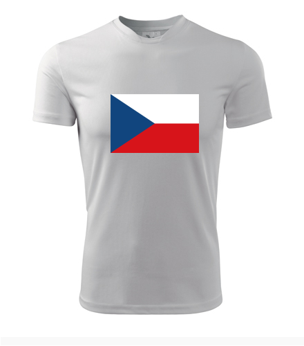 Tričko s českou vlajkou - Vlastenecká trička