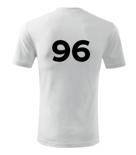 Tričko s číslem 96 - Trička s číslem