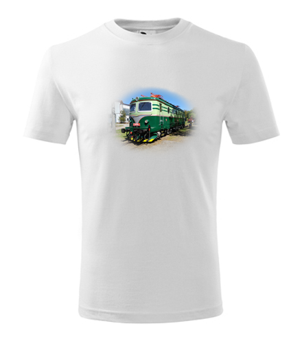 Dětské tričko s elektrickou mašinkou Bobina - Dětská trička s mašinkou