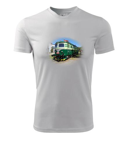 Tričko s elektrickou lokomotivou Bobina - Dárek pro strojvůdce