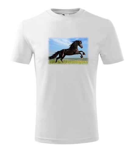 Tričko s koněm 2 dětské - Trička se zvířaty dětská