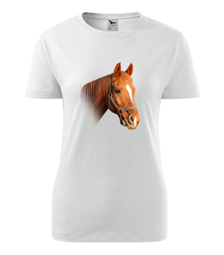 Tričko s koněm 3 dámské - Dárky pro koňačky