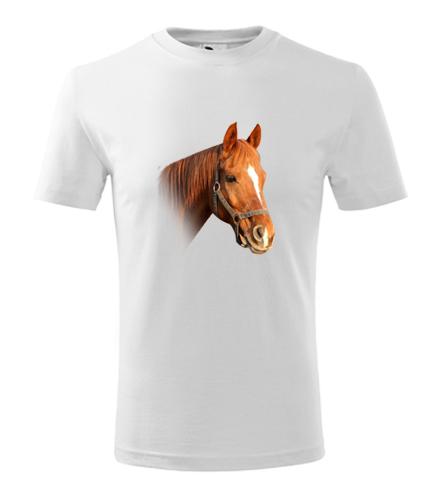 Tričko s koněm 3 dětské - Trička se zvířaty dětská