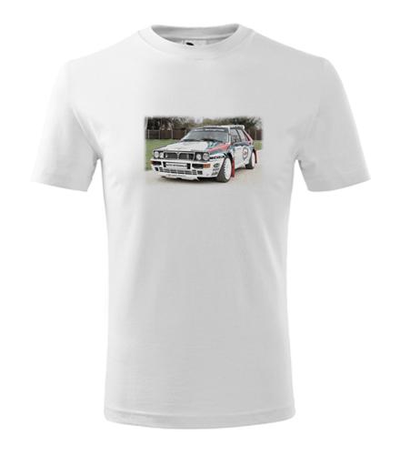 Dětské tričko s kresbou Lancia Delta Integrale - Dětská trička s auty