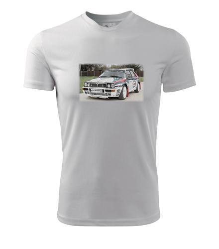 Tričko s kresbou Lancia Delta Integrale - Dárek pro příznivce aut