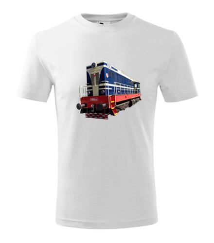 Dětské tričko s motorovou mašinkou T458 - Dětská trička s mašinkou