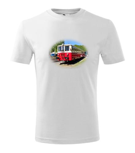 Dětské tričko s motoráčkem 830 - Dětská trička s mašinkou