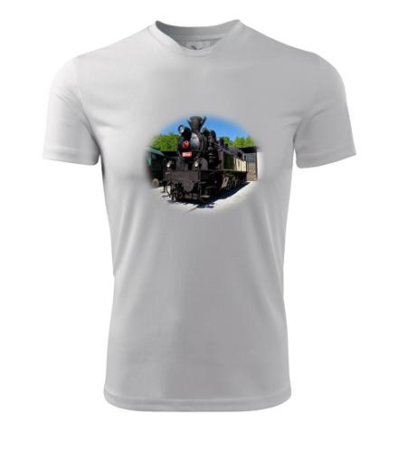 Tričko s parní lokomotivou 354 2 - Dárek pro železničáře