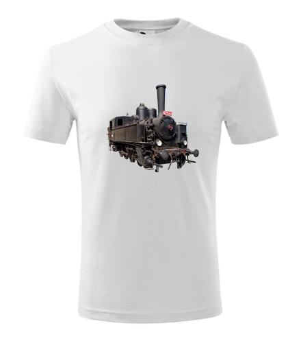 Dětské tričko s parní mašinkou 422 - Dětská narozeninová trička