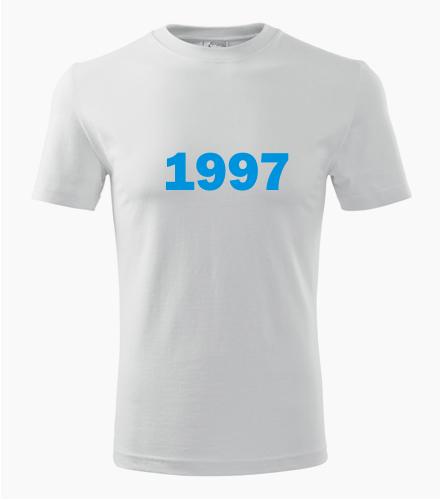 Narozeninové tričko s ročníkem 1997 - Trička s rokem narození