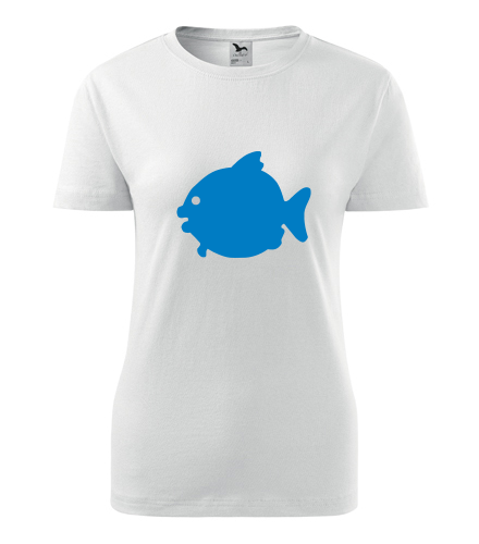 Dámské tričko s rybou - Vtipná dámská trička