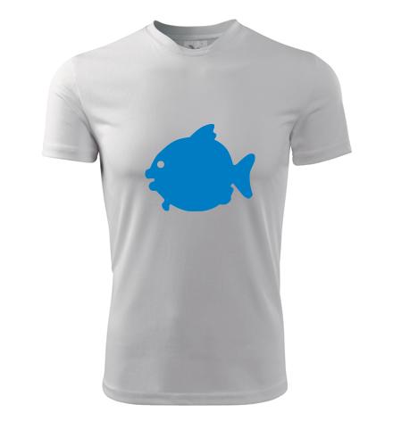 Tričko s rybou - Vtipná pánská trička