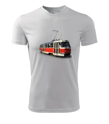 Tričko s tramvají T3 - Dárek pro řidiče tramvaje