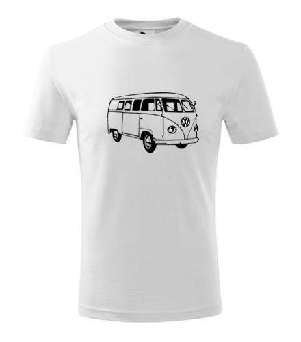 Dětské tričko s VW T1 2 - Dětská trička s auty