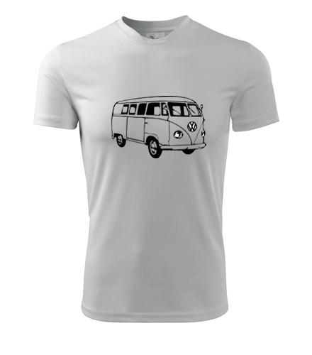 Tričko s VW T1 2 - Dárek pro příznivce aut