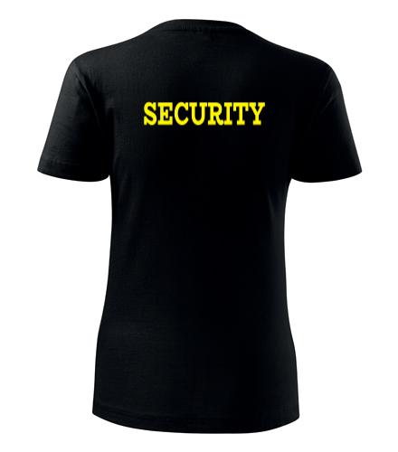 Dámské tričko Security - Trička security