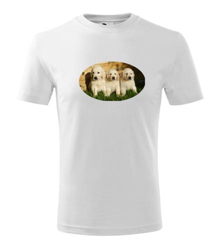 Dětské tričko se štěňátky - Trička se zvířaty dětská