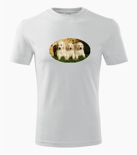 Tričko se štěňátky - Dárek pro pejskaře