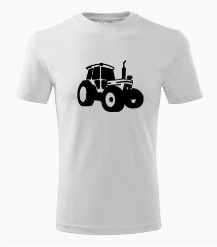 Tričko s traktorem - Dárek pro traktoristu