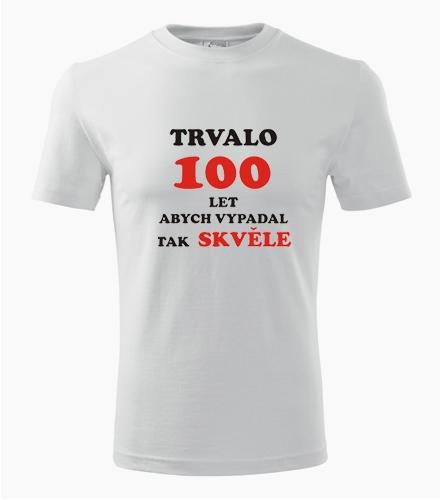 Tričko trvalo 100 let - Dárek pro muže k 100